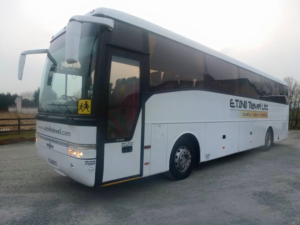Minibus Hire Magherafelt | ET NI Travel